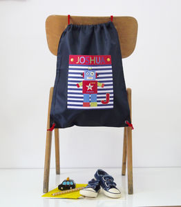 Personalised Pocket School Bags - back to school essentials