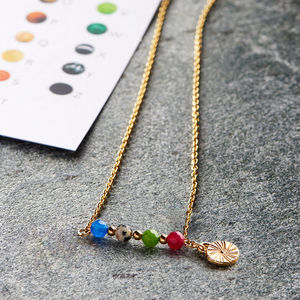 Secret Message Necklace - 30th birthday gifts