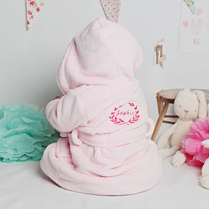 Pink Royal Baby Dressing Gown - baby care