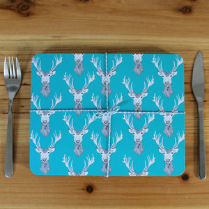 Stag Placemat Set