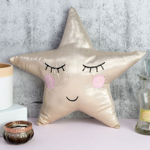 Shining Star Mini Cushion - soft furnishings & accessories