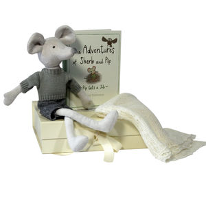 New Baby Gift Set With Woolen Shawl - baby care