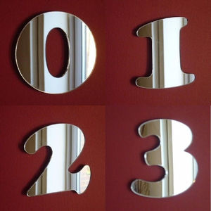 Personalised Number Wall Mirrors - mirrors