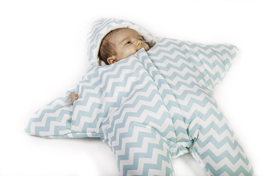 If the sleeping bag is too big, the baby may be able to wriggle further into the bag and end up trapped inside. You can buy baby sleeping bags for newborn babies, although most parents choose to wait until their baby is a few weeks old before moving on from blankets.