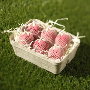 White Chocolate Strawberries Punnet - novelty chocolates