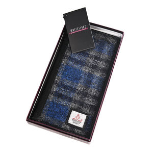 Harris Tweed Travel Wallet With Italian Leather - passport & travel card holders