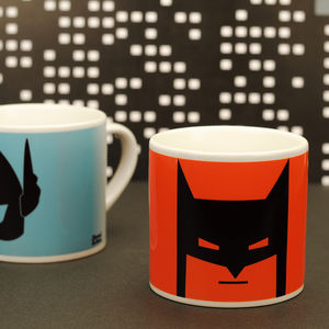 Children's Superhero Mug In Orange - for over 5's