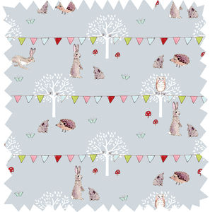 Woodland Party Oilcloth By The Metre