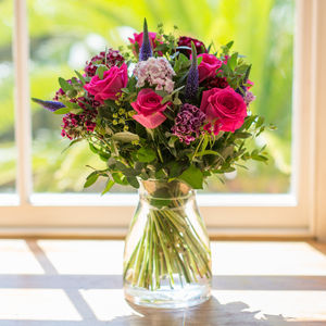 Rose Bud Summer Garden Flower Bouquet - fresh flowers
