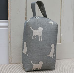 Oscar The Labrador Doorstop - home accessories