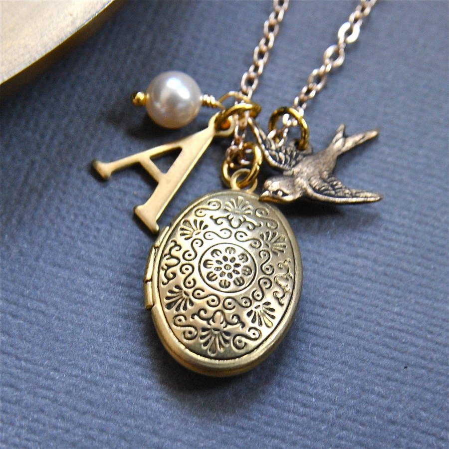 floating details jewelry costume lockets creepy halloween pin charm necklace witch