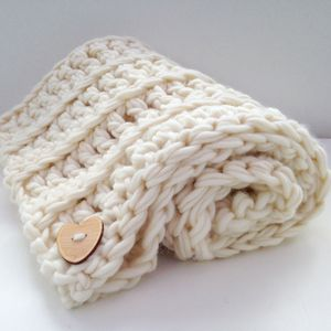 Crochet Kit Beginners Luxury Baby Blanket - craft-lover