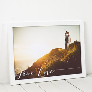 Personalised Photo Art Print - wedding gifts