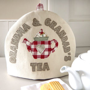 Personalised Embroidered Tea Cosy