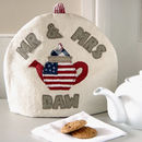 Personalised American Flag Tea Cosy