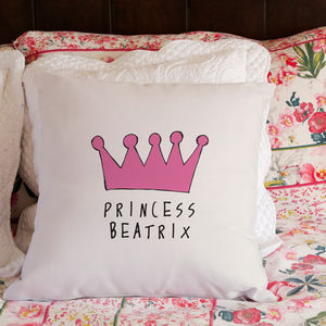 Personalised Princess And The Pea Cushion
