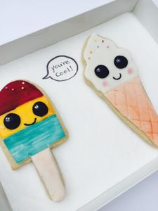 Bff 'You're Cool' Birthday Cookies