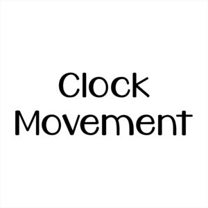 Replacement Clock Movement