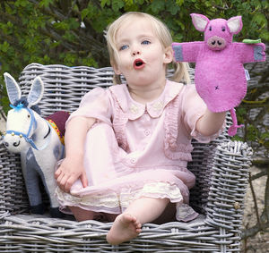 Percy The Pig Animal Puppet