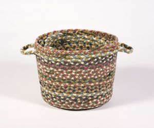 Braided Jute Circular Pots Set Of Four