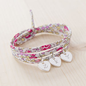 Personalised Liberty Wrap Bracelet - for friends