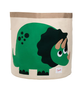 Applique Dinosaur Storage Bin