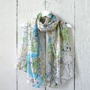 London Map Print Scarf
