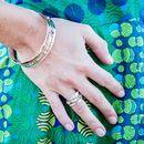Rajput Precious Stone Spinning Ring