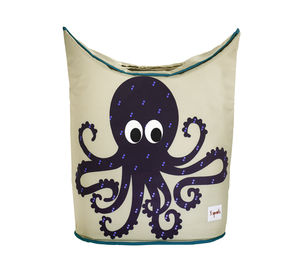 Octopus Laundry Basket - children's room