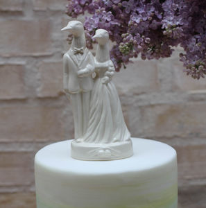 Two Loons Wedding Cake Topper