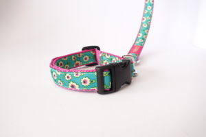 Tinkerbell Collar And Lead Set - dog leads & harnesses