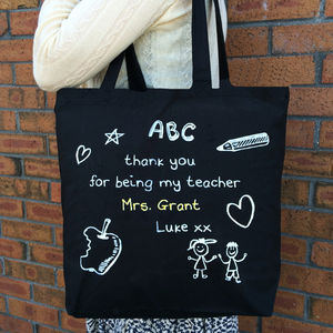 Personalised Bag For The Teacher
