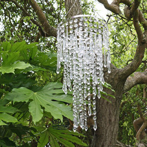 Hanging Crystal Chandelier - outdoor decorations