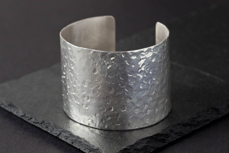cuff amazon dp hammered silver uk bangles jewellery bracelet co