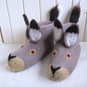 Harry Hare Adult Slippers - lingerie & nightwear