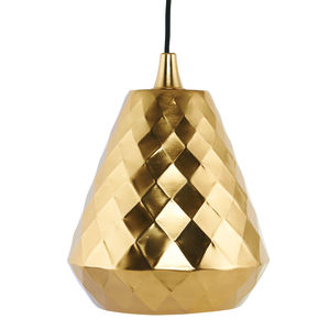 Aston Brass Plated Pendant Lamp With Flex - ceiling lights