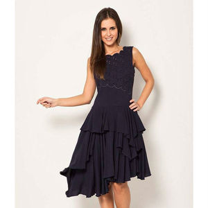 Catalla Secret Garden Drape Dress New In - dresses