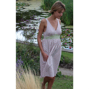 Fairy Lights Tulip Dress - maternity