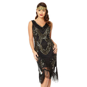 Juliet Gatsby Inspired Flapper Fringe Dress - dresses