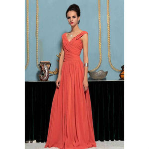 Kelly In Pleated Evening Dress - bridesmaid dresses