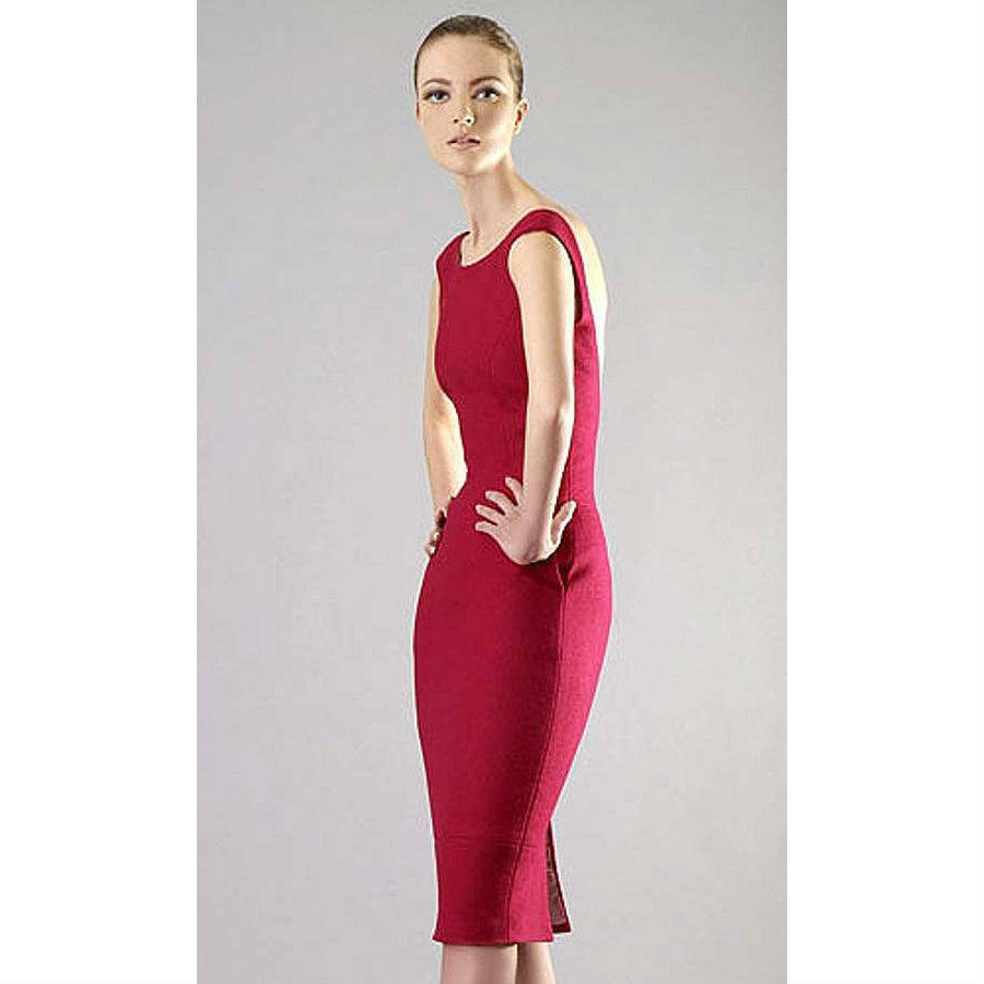 Fitted Backless Dress