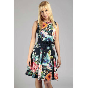 Painted Flower Summer Dress