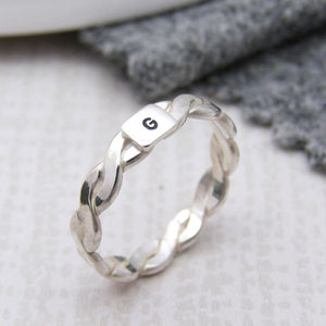 Personalised Initial Ring - best valentine's gifts for her