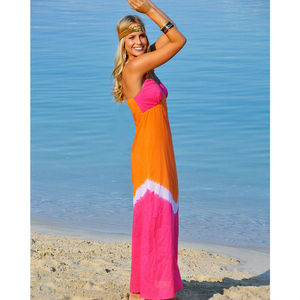 Women's Capri Maxi Dress - dresses