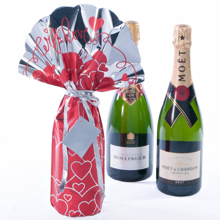 Birthday Personalised Wine Bottle Gift Set By