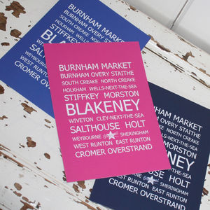 Blakeney Destinations Postcards Pack Of 10