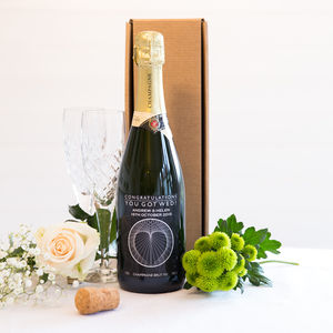 Personalised Wine Bottle Champagne