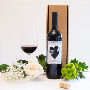Personalised Wine Bottle Organic Rioja - thank you gifts