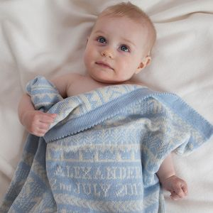 Cashmere Baby Blanket - sleeping