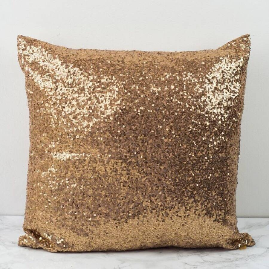 Sequin Glitter Cushion Cover By Magpie Decor